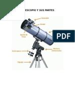 Telescopio y Sus Partes
