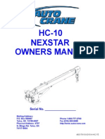 HC-10 NexStar Owners Manual