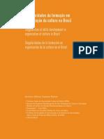 Formação em Organização da Cultura no Brasil