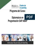 Programa Del Curso - ABAP