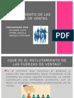 RECLUTAMIENTO DE LAS FUERZAS DE VENTAS.pptx