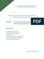 Competencias Organizacionales-eficacia Organizacional