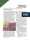 September 2015 (Newsletter Nr. 72)