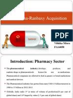 Sun's acquisition of Ranbaxy Pharma