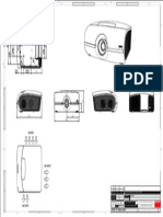 Barco TechnicalDrawing TDE6324 00 PFWX 51B and PFWU 51B Projector Outlines PDF