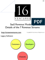 7 SaaS Revenue Streams With Details