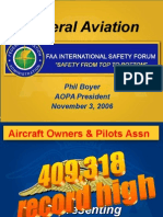 Faa Safety Forum Phil Boyer