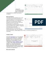 Programas Que Conforman Office