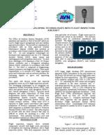 Integration of Developing Technologies Into Flight Inspection Aircraft