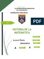 História de La Matemática