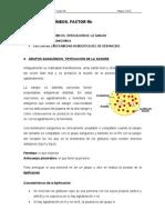 GRUPOS SANGUÍNEOS. FACTOR Rh