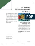 As Relaçoes Luso-brasileiras nos anos de 1950