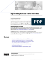 Implementing Multicast Service Reflection