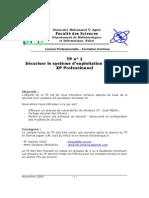 TP1-Sécurité de Windows XP Professionnel