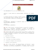 00 Plano Diretor 202-2004 Com Alterações