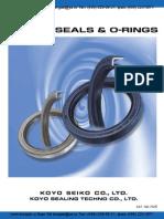 Cat701e Oil Seals