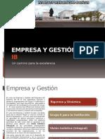 Empresa y gestión