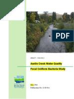 Asotin Fecal Material Study 2012 Report V1 0