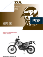 Honda Xr200r Manual Do Proprietario