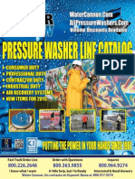 Water Cannon 2015 Pressure Washers