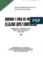 02- Decretos y Memorias del gobierno de Eleazar López Contreras