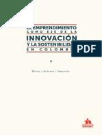 Emprendimiento como Eje de la Innovación y la Sostenibilidad en Colombia