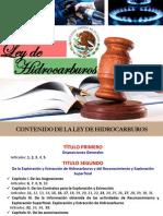 Ley de Hidrocarburos. Rev 1
