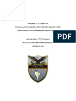 Southcom Posture Statement Final 2015