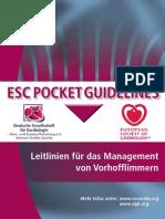 2012 Pocket-Leitlinien Vorhofflimmern