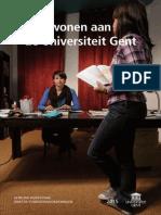 Wonen 2015 universiteit gent