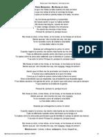 Letra de Me Llevas Al Ci... Manjarres - MUSICA
