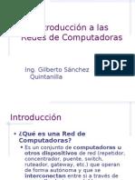 1. Intro Redes Computadoras