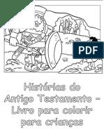 Histórias Do Antigo Testamento - Livro Para Colorir Para Crianças