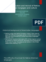 Language Revival and Revival