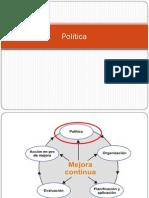 Politica Vision Mision