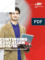 SAIT Continuing Education 2015-16