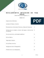 Reglamento Int. Advan