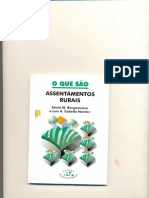 BERGAMASCO, Sonia. Assentamentos Rurais