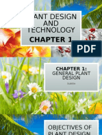 Chapter 1 Plant Design and Technology