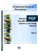 Desarrollo de Las Funciones Ejecutivas y de La Corteza Prefrontal