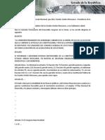 26-05-15 Disposiciones de La Constitución Política de Los Estados Unidos Mexicanos