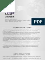 Maestro de La Calidad Philip Crosby