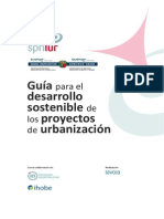 Guia Para El Desarrollo de Proyectos Sostenibles de Urbanizacion