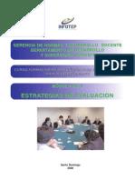 formacion metodologica . evaluacion