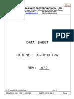 Para Light Electronics Co. Ltd. - A-2301UB B_W