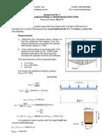 Composite Structures - Assignment No. 4