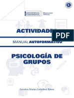 Psicologia de Grupos ACT ED1 U1 V1 2015