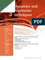 Dyanimcs and Expressive Techniques