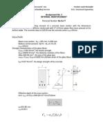 Composite Structures - Assignment No. 3
