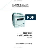 Ricoh AC205L Parts Catalog v01